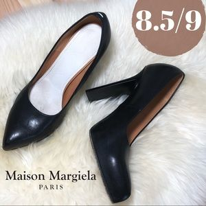 Maison Margiela Luxe Calfskin Point Toe Pump IT/39